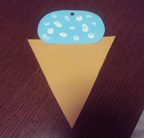 太郎の初作品、アイスクリーム