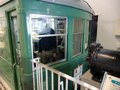 レトロな電車