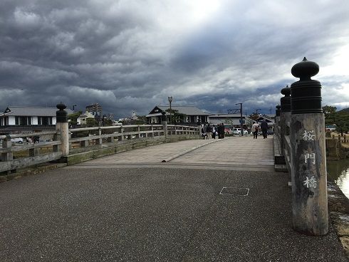 姫路城の橋