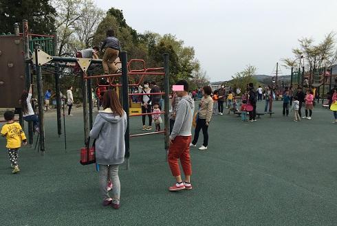 中井中央公園:遊具がたくさん