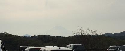 中井中央公園からの富士山