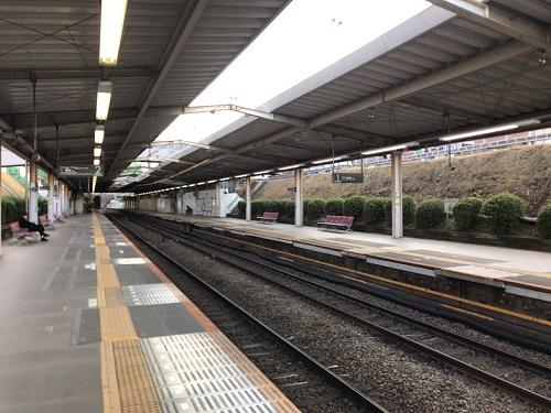 南町田駅のホーム