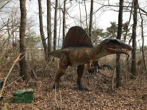 凶暴なスピノサウルス