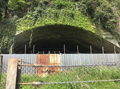 野島の掩体壕