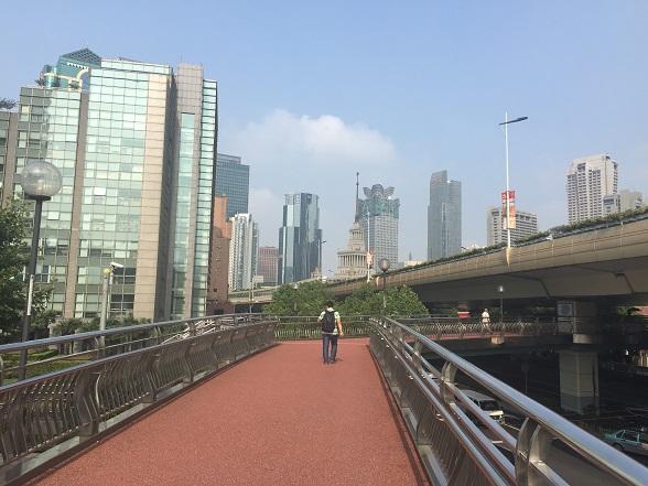 上海の高層ビル